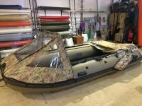 Носовой тент на лодку ПВХ до 3-х метров