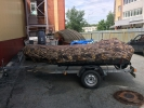 Стояночный тент на лодку ПВХ до 3,5-ой метров