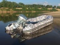 Лодка ПВХ РОБИНЗОН 350 КМФ